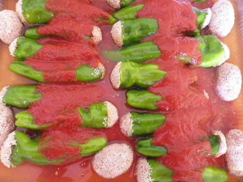 secondi con le verdure